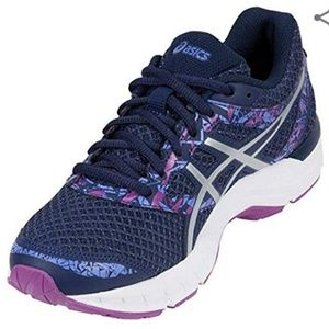 Asics Gel Excite 4 Athletic Shoes Navy/Purple 10